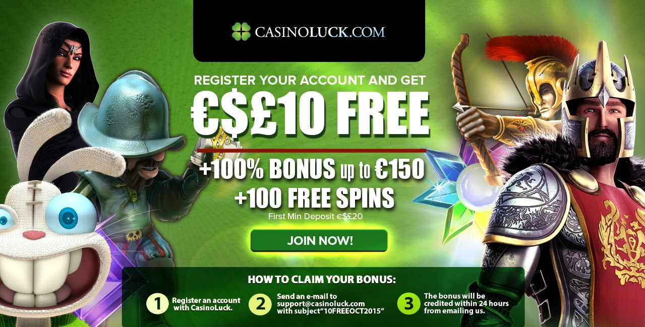 casino lucky win bonus codes