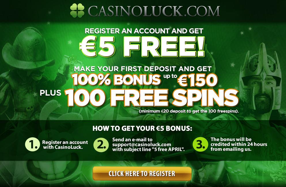 casino no deposit bonus 5