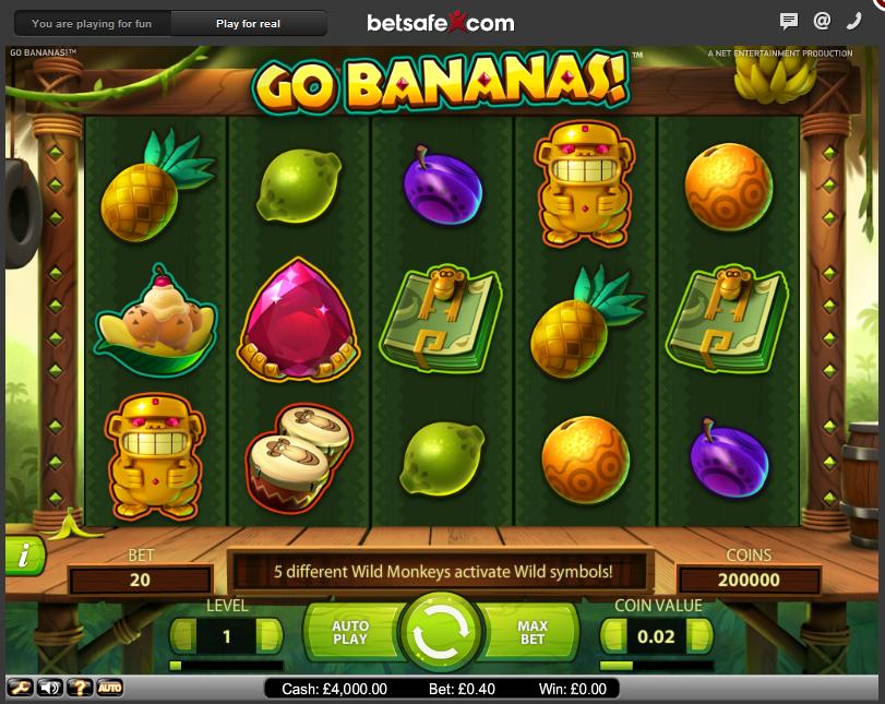 Go Bananas™ (NetEnt)