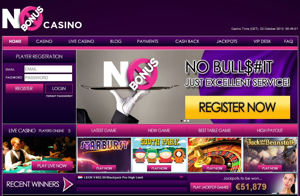 cacheback casino