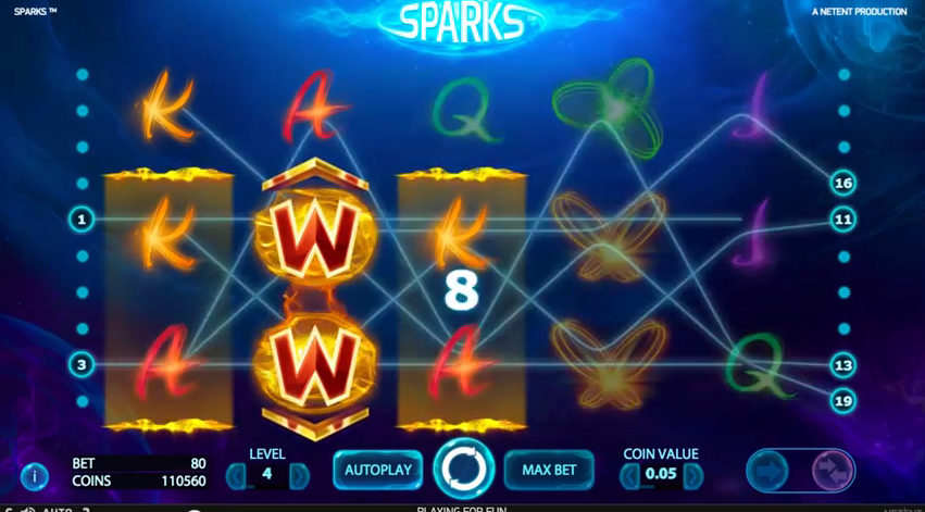 Sparks™ (NetEnt)