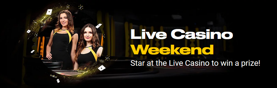 Live Casino Weekend at BWIN