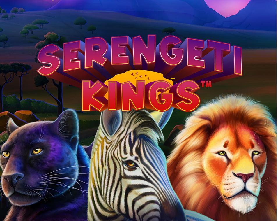 """Win up to 504 Mega Spins for """"Serengeti Kings"""" at GUTS"""