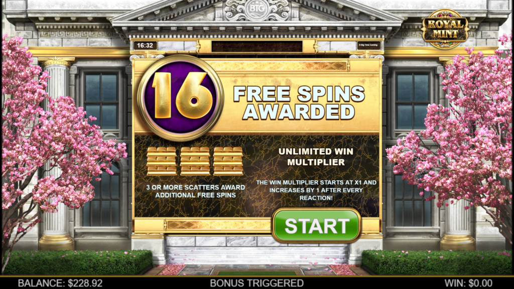 Unlimited Win Multiplier at Royal Mint Megaways ™