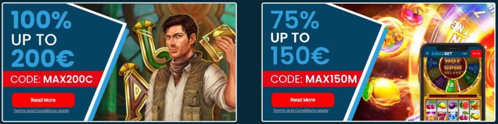 Eaglebet Casino offer