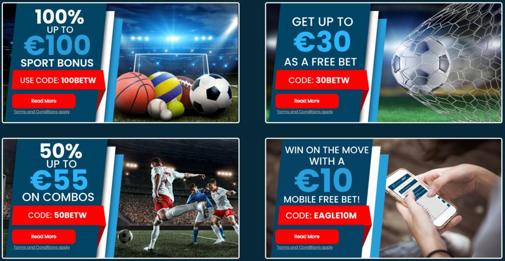 Eaglebet Sports offer