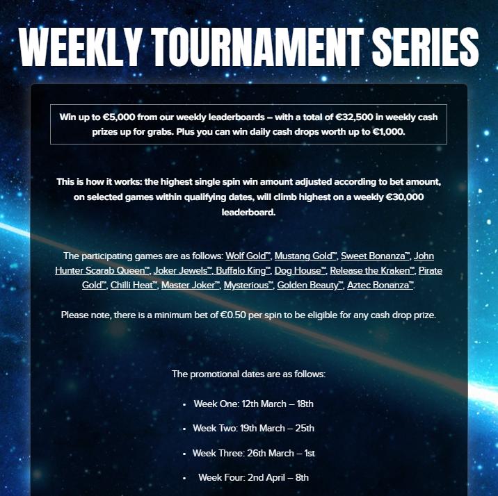 Weekly Tournament Series at KABOO